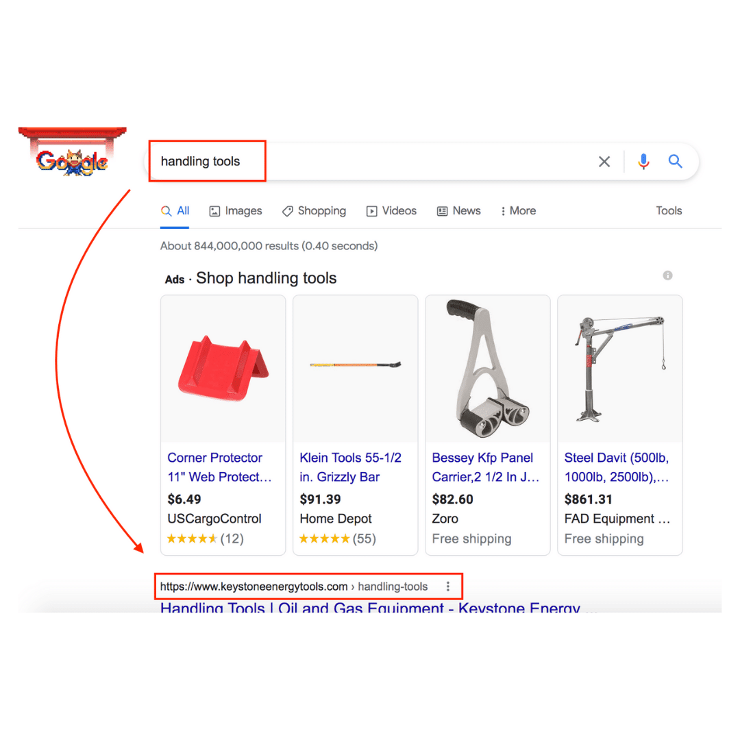 Google Ranking | Vested Marketing