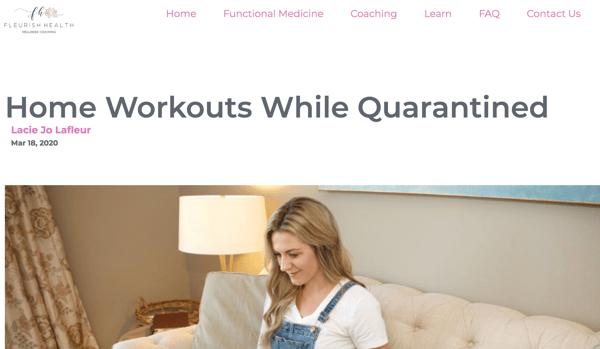 Fleurish Health   Vested Marketing