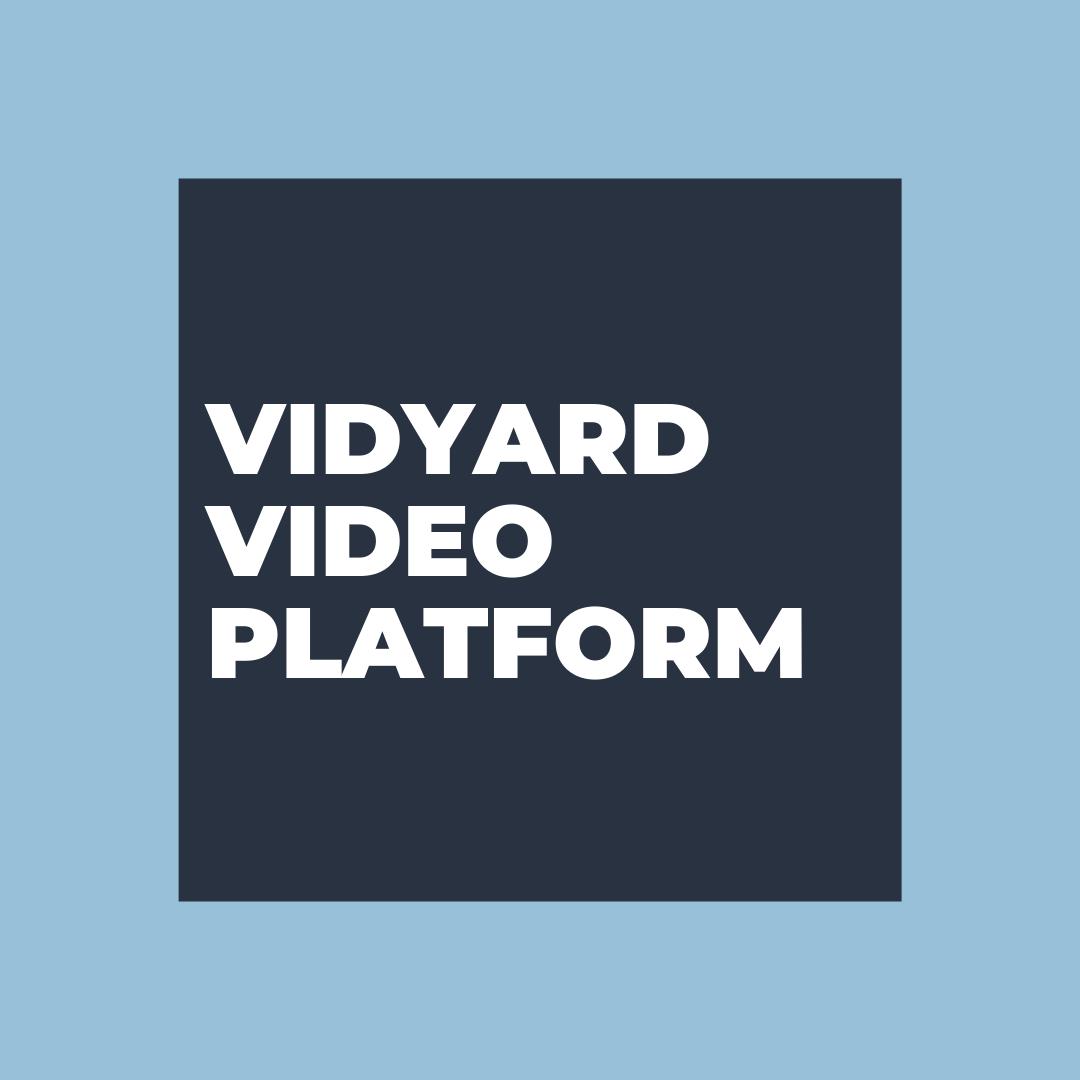 Vidyard Video Platform | Vested Marketing