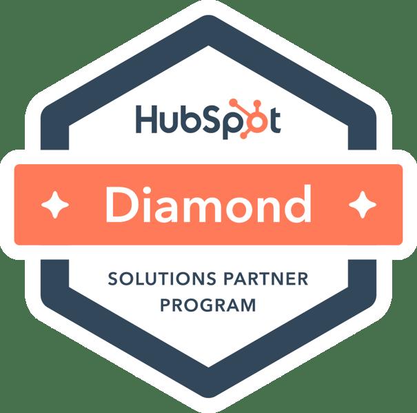 HubSpot Diamond Partner Badge   Vested Marketing