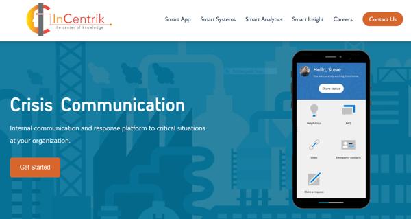 Crisis Communication App   InCentrik