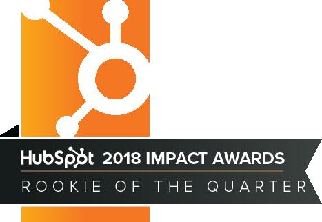 Hubspot ImpactAwards 2018 RookieOfTheQuarter